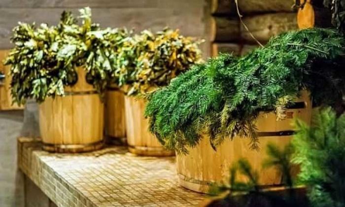 травы и баня